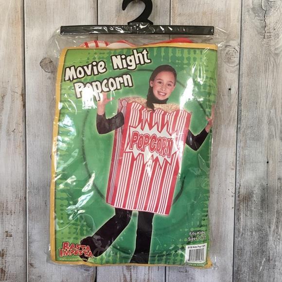 9b442c5a8de Kids Popcorn Halloween Costume Size 7-10